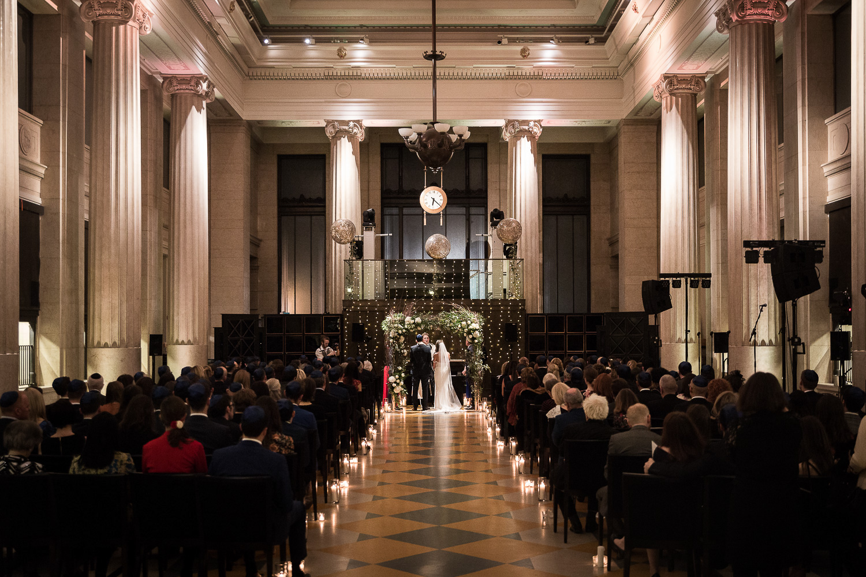 Jewish wedding ceremony | Banking Hall London-0582