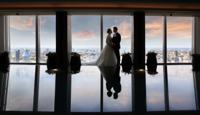 Modern stylish wedding films and photography throughout the Southe east of in England - http://www.boutiqueweddingfilms.uk/ https://scottmillerphotography.co.uk/ Michelle and Tze wedding at the Shard London